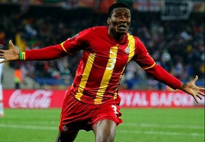 Ghanaian Striker Asamoah Gyan emerges Africa's highest paid footballer.
